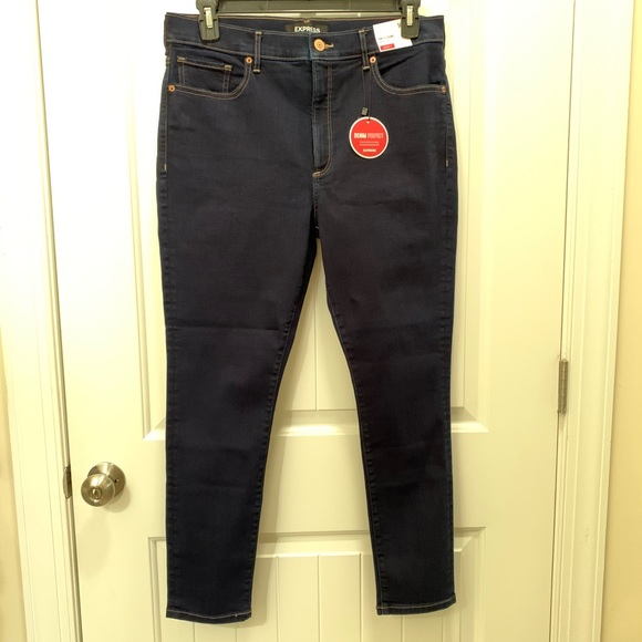 NWT Express Hi-Waisted Denim Perfect Skinny Jeans